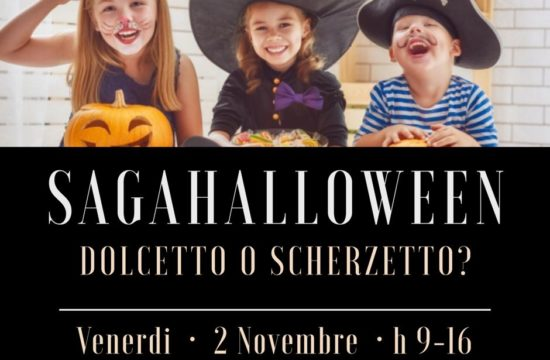SAGAHALLOWEEN LABORATORIO CREATIVO 2 NOVEMBRE