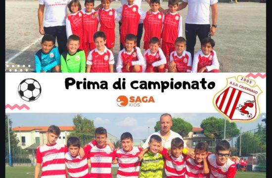 PRIMA DI CAMPIONATO A CAVERNAGO CON SAGA KIDS